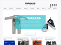 Threads Styling Consultancy website screen shot
