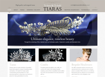 To Have And To Hold Tiaras Website