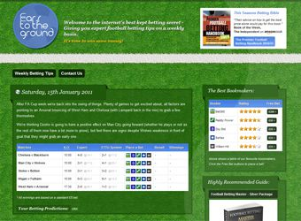 Football Betting Tips Website