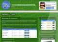 Football Betting Tips website screen shot