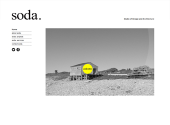 Soda Architects Website
